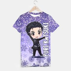 Yuri! On Ice Chibi Yuri Katsuki T-shirt
