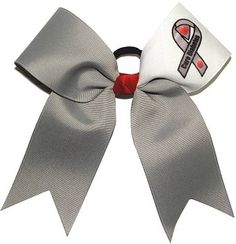 Great site for unique awareness hair bows