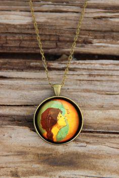 Handmade Glass Jewellery by ArtPuddles on Etsy, $20.00