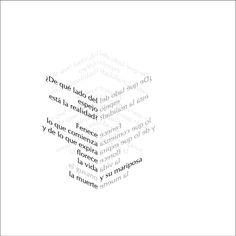 Caligramas de Alberto Espinosa: arte, poesía y geometría. | Matemolivares