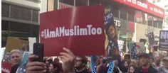 By Dennis Michael Lynch on DML Daily NEW YORK CITY — Yesterday, an estimated one thousand people held a march in support of Muslims and to protest President Trump's immigration policies. The New York City protest was just one of many held over the weekend across the country. The protest was cal...
