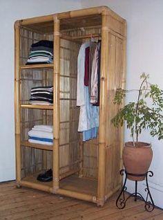wardrobe of bamboo too? wardrobe of bamboo too? Bamboo Art, Bamboo Crafts, Bamboo Fence, Bamboo Ideas, Bamboo Furniture, Furniture Decor, Furniture Design, Trendy Furniture, Furniture Online