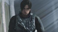 Leon Resident Evil, Resident Evil Damnation, Resident Evil Anime, Albert Wesker, Leon S Kennedy, Horror Video Games, Jill Valentine, Aesthetic Grunge, Best Games