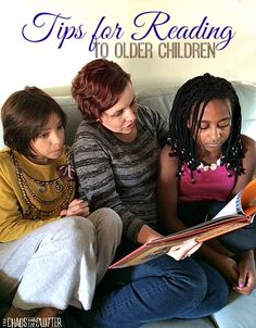 Reading to your kids doesn't have to end when they are old enough to read on their own. Reading to older children strengthens bonds, increases curiosity, improves communication, and creates a lifelong love of learning.