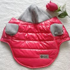 winter pet dog clothes Picture - More Detailed Picture about Warm Winter Pet Dog Clothes For Small Dogs Thicken PU Waterproof Puppy Coat Jacket Teddy Chihuahua Hoodies Apparel Costumes 8 10 Picture in Dog Coats & Jackets from Elva Life Store Puppy Coats, Martingale Dog Collar, Waterproof Coat, Love Your Pet, Dog Jacket, Puppy Clothes, Dog Sweaters, Training Your Dog, Pet Dogs