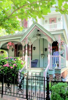 Victorian............ maybe I will paint my house like this next time...... if I live long enough! LOL!! This is lovely!