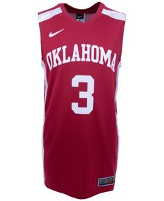 Nike Men s Oklahoma Sooners Replica Basketball Jersey Oklahoma Sooners  Basketball 2c83159af