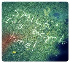 #smile it's #bicycle time!
