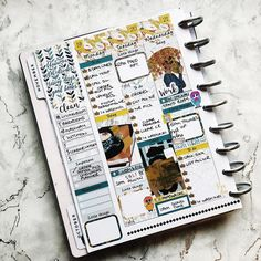 This weeks layout so far xxx Planner Layout, Planner Decorating, Happy Planner, Planner Stickers, Planners, How To Plan, Layouts, Cards, Art Journals