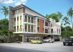 natcon 45 united architects of the philippines Mix Use Building, Building Design, Commercial Building Plans, Commercial Design, Small Apartments, Floor Plans, Design Inspiration, Construction, Exterior