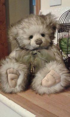 Charlie Bears plush bear Tasha retired qvc exclusive