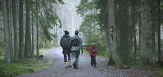 Crown Princess Victoria, Prince Daniel and their kids bundle up on a hike for their annual Christmas video