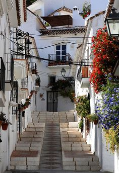 Mijas , Spain by David IFA, via Flickr.  The view from this area was panoramic.  It was truly breathtaking!