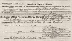 record of Bonnie and Roy's marriage