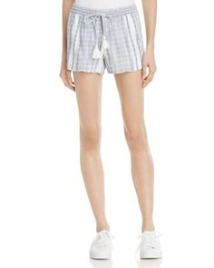 Soft Joie Josip Striped Shorts In Porcelain Soft Pants, Shorts Online, Striped Shorts, Short Skirts, Casual Shorts, Porcelain, Polyvore, Shopping, Clothes