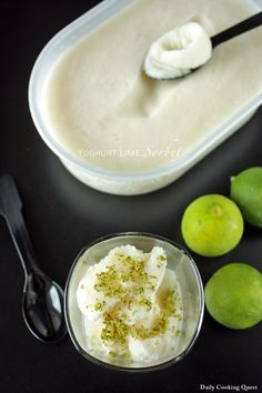 <p>Living in Indonesia means year round tropical weather, which translates to high appreciation for all things cold and sweet and refreshing. Pretty much what this yoghurt lime sorbet is all about, actually. ♥  I don't own an ice cream machine, so I am not sure what will happen if …</p>