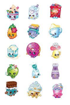 15 Images Shopkins 1 25mm Bottlecap Images 4x6 by OliverandMay