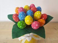 Trucs de Maëliane, le blog.: [DIY] Bouquet de Pâques