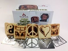 Burnt Impressions Brand Selfie Toaster Bundled with Shown Inserts * Change Toast Images - WARNING - Inserts Get Hot!!!! Be Careful!!! * Art on Toast!!! * 50% OFF Coupon Included Towards Future Insert Purchases Via Our Website * (Placed within the Amazon Associates program) * 19:44 Mar 20 2017
