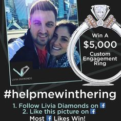"❗️PLEASE HELP ME WIN A $5,000 RING FOR THE LOVE OF MY LIFE - CLICK THE LINK (""VISIT"" BUTTON) & LIKE THE PIC! THANK YOU! Please Help Me, I Win, Love Of My Life, Finding Yourself, Thankful, Social Media, Writing, Button, Reading"