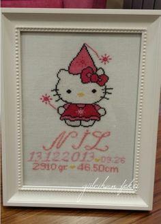 Hello Kitty Etamin Pano