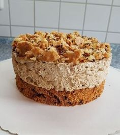 Eiskaffee - Sahne - Torte Ice coffee - cream cake, a good recipe with image from the category baking Desserts For A Crowd, Easy Desserts, Delicious Desserts, Baking Recipes, Cake Recipes, Dessert Recipes, Torte Au Chocolat, Coffee Cream, Iced Coffee