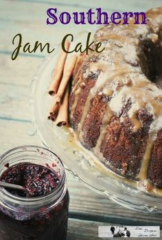 Enjoy this delicious Blackberry Jam Cake, it's a closely held regional recipe to the south that's so divine everyone will love this.