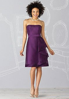 purple wedding dress purple wedding dress purple wedding dress...like it but will have to add something to make it a little longer and make straps with cap sleeve...beautiful