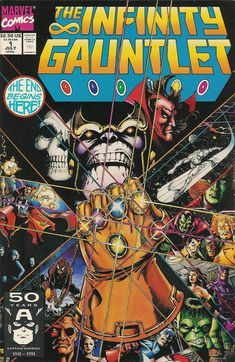 Thanos:The Infinity Gauntlet-Starlin,Perez,Lim