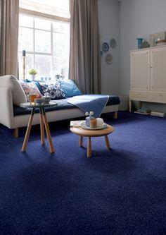 Glitter glamour in de woonkamer met zachte - Kleur blauwe verf ...