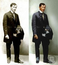20 Remarkable Colorized Photos Will Let You Relive Philippine History Colorized History, Colorized Photos, Jose Rizal, Philippines Culture, Filipino Culture, American War, Historical Pictures, Photo Archive, Good Looking Men