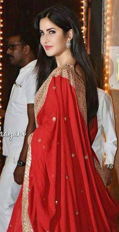 Wedding Saree Blouse Designs, Lehenga Designs, Saree Wedding, Liam Hemsworth, Katrina Kaif, Bollywood Actors, Celebs, Celebrities, Beautiful Indian Actress