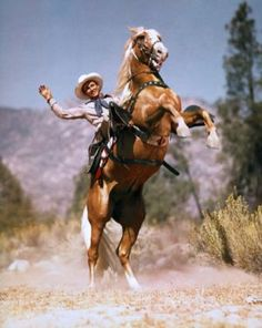 """""""Happy Trails To You Until We Meet Again....""""  Roy Rogers and Trigger...... A gentleman cowboy and iconic horse"""