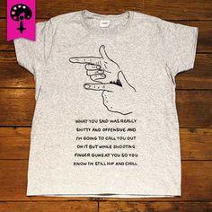 Feminist Finger Guns -- Women's T-Shirt – Feminist Apparel