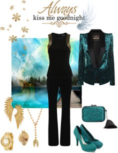 """wings"" by simona-mari on Polyvore"