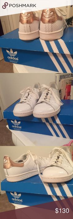 Rare Adidas Copper Stan Smith Women's 8 These shoes are no longer sold in stores. Worn 3 times. Make an offer! :) Adidas Shoes