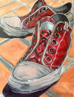 Nancy Taylor Levinson,Red Sneakers