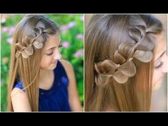 Rick Rack Braid How to Video Tutorial by Cute Girls Hairstyles.  Very easy hairstyle.