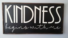 KINDNESS / Magnolia Farmhouse Sign / Farmhouse Decor / Chalkboard / Gift for Her/ LARGE home decor sign / Christmas Gift / Magnolia Inspired https://www.etsy.com/listing/554589812/kindness-magnolia-farmhouse-sign?utm_campaign=crowdfire&utm_content=crowdfire&utm_medium=social&utm_source=pinterest