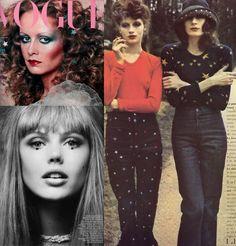 Twiggy; Anjelica Huston; Frida Gustavsson