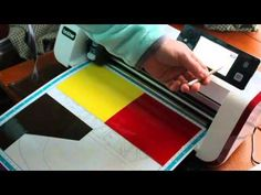 Cutting vinyl by editing patterns On the ScanNCut Jen Blausey - YouTube