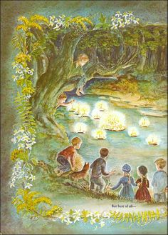 Tasha Tudor Birthday Party. One of my favorite parts of the book a time to keep.