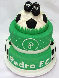 Soccer Cake - Caketutes Cake Designer: Festa Palmeiras -Bolo Futebol Palmeiras