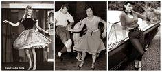 Jive ja Rock'n roll olivat nuorison suosiossa 1950- luvulla