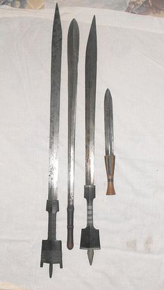 East African swords