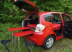 Room Boox Freetech, la maleta que convierte tu coche en una caravana
