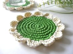 Crocheted Coasters ༺✿ƬⱤღ✿༻