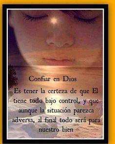 Confiar en Dios.