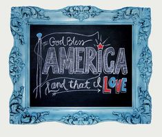 pray for america in chalk - Google Search