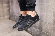 adidas' Primeknit construction has covered a slew of different styles this year, and the Campus 80s are no different. Available in both a simple black and white colorway, the Three Stripes classic sty...